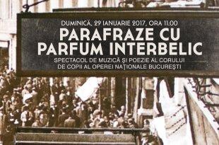 Parafraze cu parfum interbelic